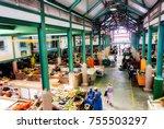 st. john's  antigua and barbuda.... | Shutterstock . vector #755503297