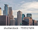 urban city architecture... | Shutterstock . vector #755517694