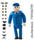 plasticine policeman or officer
