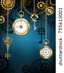 steampunk design with gold... | Shutterstock . vector #755613001