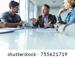 startup business team in... | Shutterstock . vector #755621719