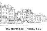 sketch illustration   Shutterstock . vector #75567682