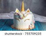 A Beautiful Bright Cake...