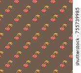 cute cherry seamless pattern....