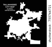 tallahassee  florida  usa city... | Shutterstock .eps vector #755766721