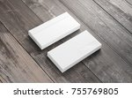 blank envelopes on grunge... | Shutterstock . vector #755769805