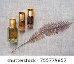 arabian oud attar perfume or... | Shutterstock . vector #755779657