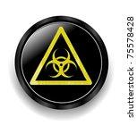 biohazard symbol | Shutterstock .eps vector #75578428
