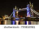 Tower Bridge Is A Famous Icon...