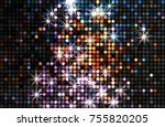 lights background. abstract... | Shutterstock . vector #755820205