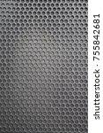 metal mesh of speaker grill...   Shutterstock . vector #755842681
