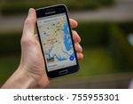 lendelede  belgium   october... | Shutterstock . vector #755955301