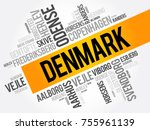 list of cities and towns in... | Shutterstock .eps vector #755961139