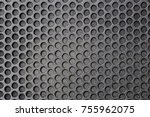metal mesh of speaker grill...   Shutterstock . vector #755962075