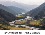View Of A River Flowing Throug...
