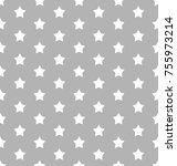stars on an understated grey... | Shutterstock .eps vector #755973214