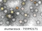 light colored vector template... | Shutterstock .eps vector #755992171