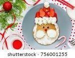 Santa Claus Pancakes With...
