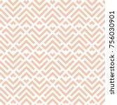 abstract geometric beige vector ... | Shutterstock .eps vector #756030901
