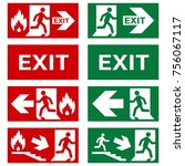 Vector. Set Of Safety Signs....