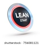 3d illustration of a button... | Shutterstock . vector #756081121