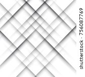 simple crossing shadow lines... | Shutterstock .eps vector #756087769