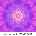 abstract background pink... | Shutterstock . vector #756125497
