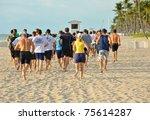 fort lauderdale  florida  ... | Shutterstock . vector #75614287