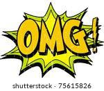 omg   Shutterstock .eps vector #75615826