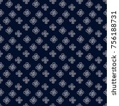asian pattern. kabuki. japanese ... | Shutterstock .eps vector #756188731