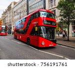 london  uk   circa june 2017 ... | Shutterstock . vector #756191761