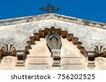church of the flagellation ... | Shutterstock . vector #756202525