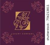 vector graphic elegant logotype ...   Shutterstock .eps vector #756213811