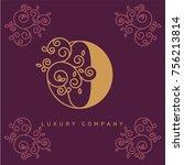 vector graphic elegant logotype ...   Shutterstock .eps vector #756213814