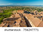 view from a tower of... | Shutterstock . vector #756247771