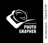 vector logo for photographer | Shutterstock .eps vector #756249799