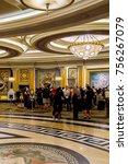 Small photo of LAS VEGAS, USA - SEP 21, 2017: Reception hall of the Caesars Palace, a AAA Four Diamond luxury hotel and casino, Las Vegas Strip, Paradise, Nevada, United States.