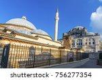 kilic ali pasha mosque and... | Shutterstock . vector #756277354