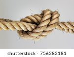 Rope Knot. Concept For Trust ...