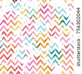 template seamless abstract... | Shutterstock .eps vector #756302044