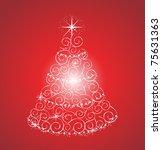 christmas tree | Shutterstock . vector #75631363
