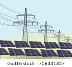 Solar Panels And Transmission....