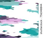camouflage background with... | Shutterstock . vector #756348844