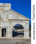 Small photo of The assembly hall of the Lycian League in ancient city Patara. Turkey