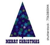 blue green snowflake pattern... | Shutterstock .eps vector #756380044