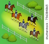 issometric racehorses and lady
