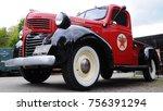 amberley  uk   10 08 17  1946... | Shutterstock . vector #756391294