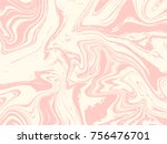 pink and white marble texture... | Shutterstock .eps vector #756476701