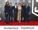 los angeles   nov 13   jason... | Shutterstock . vector #756490135