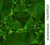 low poly mosaic background.... | Shutterstock .eps vector #756509515